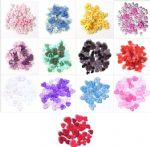 B6166 Mini Craft Buttons: Hearts: - Full Colour Range